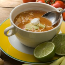 iStock 000010575660XSmall 225x225  Vegetarian/Vegan Tortilla Soup