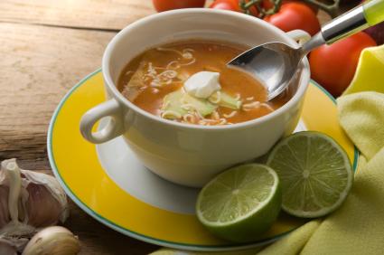 Vegetarian/Vegan Tortilla Soup