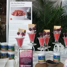 CIMG4289 2 225x225  Dark Chocolate Passionfruit Cheesecake Lollipops