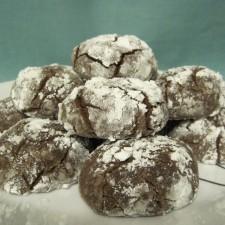 043 225x225  Chocolate Crackle Cookies