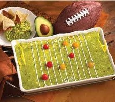 Football field Guacamole 225x201  Holy Guacamole