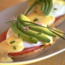 eggs benedict  Easy Blender Hollandaise and Eggs Benedict 45 Ways!