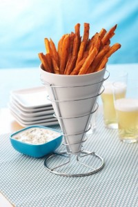 sweet potato fries recipe 200x300  Homemade Sweet Potato Fries