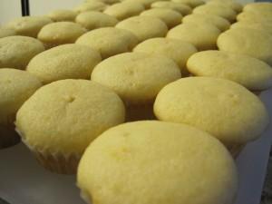 005 300x225  Mini Mimosa Cupcakes
