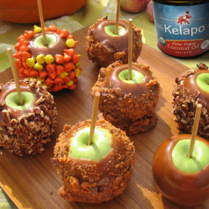 Halloween Goodies 300x300  Homemade Caramel Sauce and Caramel Apples