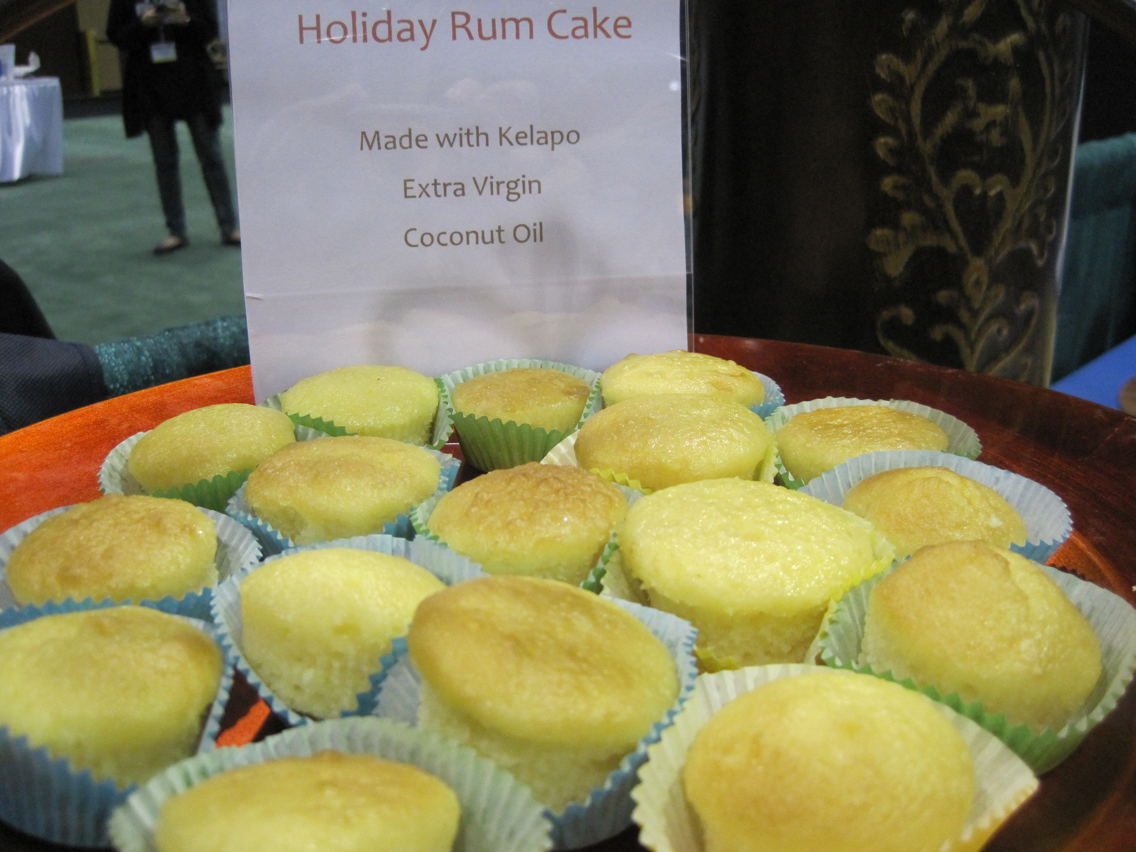 Holiday Rum Cake Served At Soho