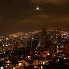 caracas at night 225x225  Chef Cristian's The Venezuelan Bomba
