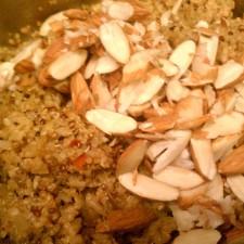 quinoa almonds 225x225  Quinoa and Almond Salad
