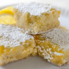Lemon Bars 225x225  Susan Dopart's Healthy Lemon Bars