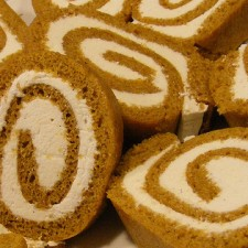 4004266655 12acc41c73 225x225  Pumpkin Day: Pumpkin Roll