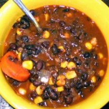 42966 225x225  Pre-Prepared Meal: Vegan Black Bean Soup