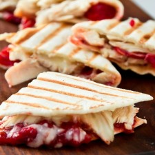 8169817723 445ba43f1d z 225x225  Quesadilla made with Holiday Leftovers
