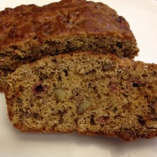 bread 225x225  Quick Cranberry Nut Bread