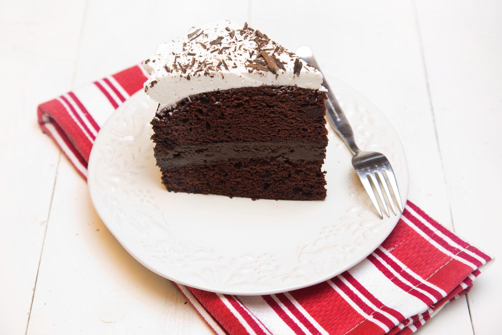 Chef Dennis' Chocolate Fudge Cake