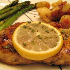 Grilled Chicken Breast with Asparagus and Potatoes 225x225  Coconut Oil in Every Dish