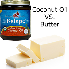 Untitled 1  Coconut Oil vs. Butter