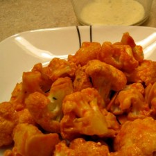 Cauliflower Buffalo Wings 225x225  Vegetarian Buffalo Wings
