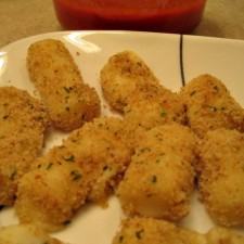 Mini Baked Mozzarella Sticks 225x225  Mini Baked Mozzarella Sticks