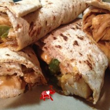 ChickenFajitaWrap1 225x225  Chicken Fajita Wrap