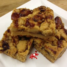 PB24 225x225  Peanut Butter and Jelly Bars