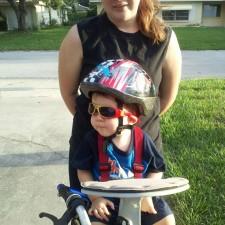 Aidan bike 225x225  Bike to School Day