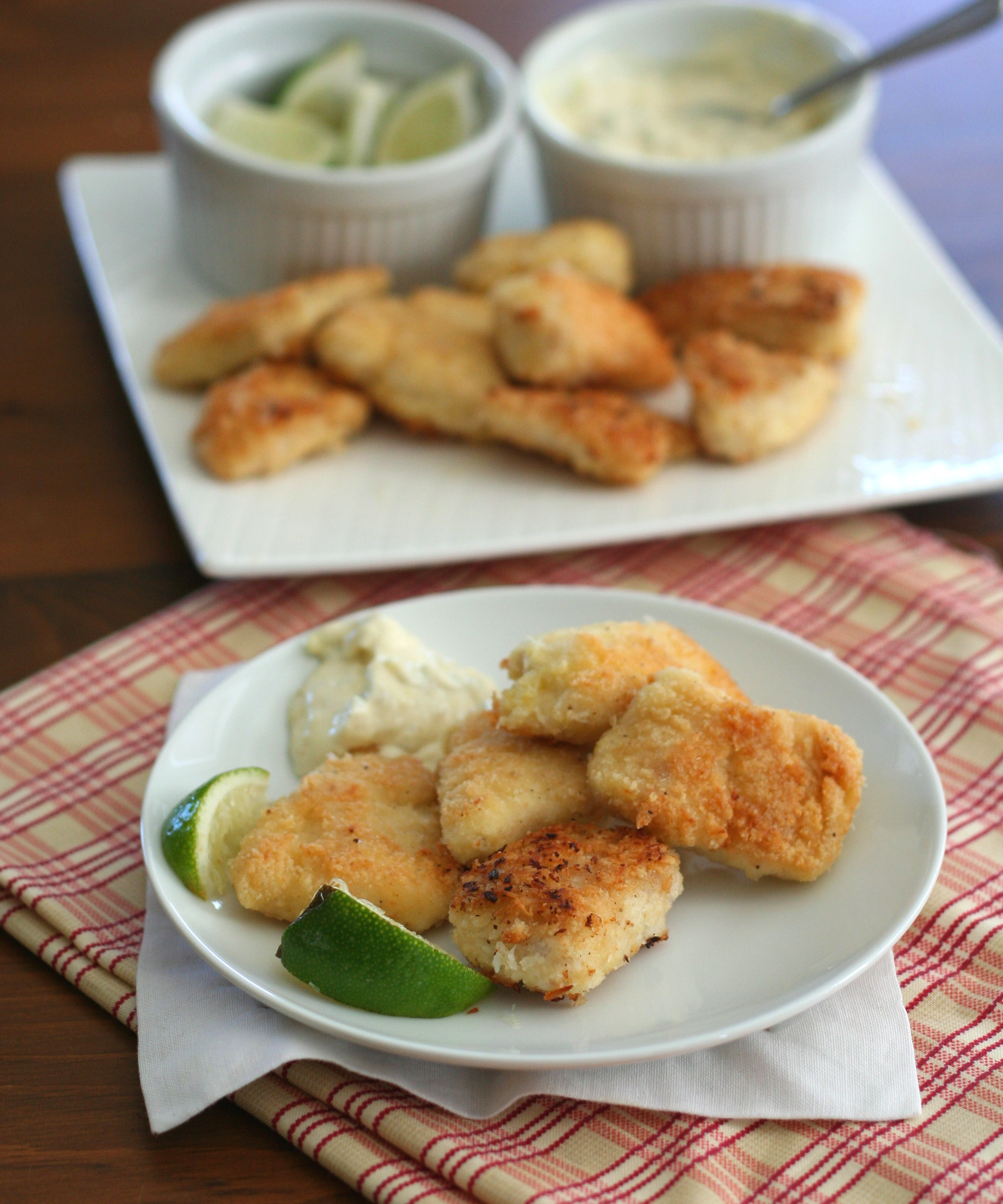 Coconut Crusted Mahi Mahi Nuggets 1