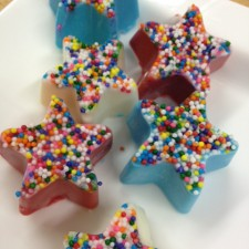 ChocolateStar 225x225  White Chocolate Stars