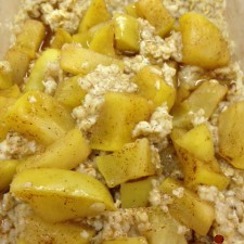 Oatmeal 225x225  Cut Sugar Cravings With Coconut Oil