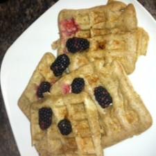 waffle3 225x225  Healthy, Homemade Whole Wheat Waffles