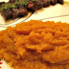 Mashed Sweet Potatoes 225x225  The Easiest Mashed Sweet Potatoes