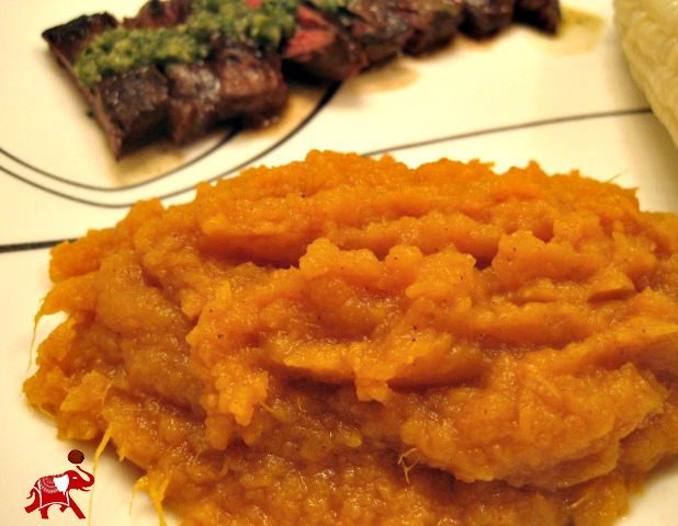 The Easiest Mashed Sweet Potatoes