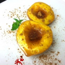 Baked Peaches 225x225  Guilt-Free Baked Peaches