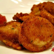 Fried Ravioli1 225x225  Fried Ravioli with Healthy Alternative