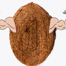coconut muscle 225x225  Top 5 Manliest Coconut Oil Uses