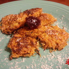 Coconut Sweet Potato Latkes 225x225  Coconut Sweet Potato Latkes