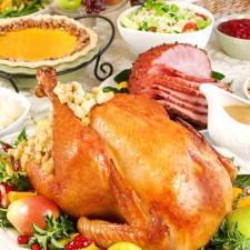 thanksgiving dinner1 225x225  Turkey Leftover Soup