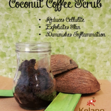 Coconut Oil Coffee Scrub 225x225  Coconut Oil Coffee Scrub