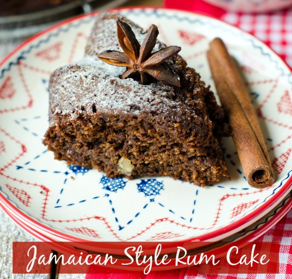 Island holiday feast for Jamaican chocolate rum cake recipe