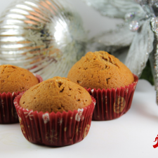Kelapo Gingerbread Muffins 225x225  Gingerbread Muffins