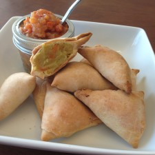 finished 225x225  White Sweet Potato and Carrot Samosas