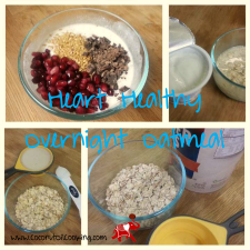 Heart Healthy Oatmeal 225x225  Heart Healthy Overnight Oatmeal