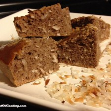 Chocolate Coconut Protein Bread 225x225  Chocolate Coconut Protein Bread