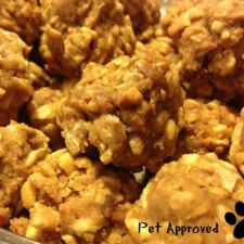 Peanut Butter Clusters 2 225x225  Peanut Butter Clusters – Great for Pups