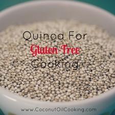 quinoa in bowl 225x225  Quinoa in Gluten-Free Cooking