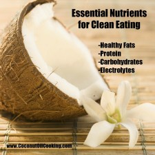 Clean Eating 225x225  Essential Nutrients for Clean Eating