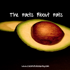 Facts about fats 225x225  Coconut Oil Nutrition—A Different Kind of Fat