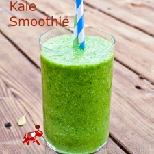 Kale Smoothie 225x225  Energy-Boosting Kale Smoothie
