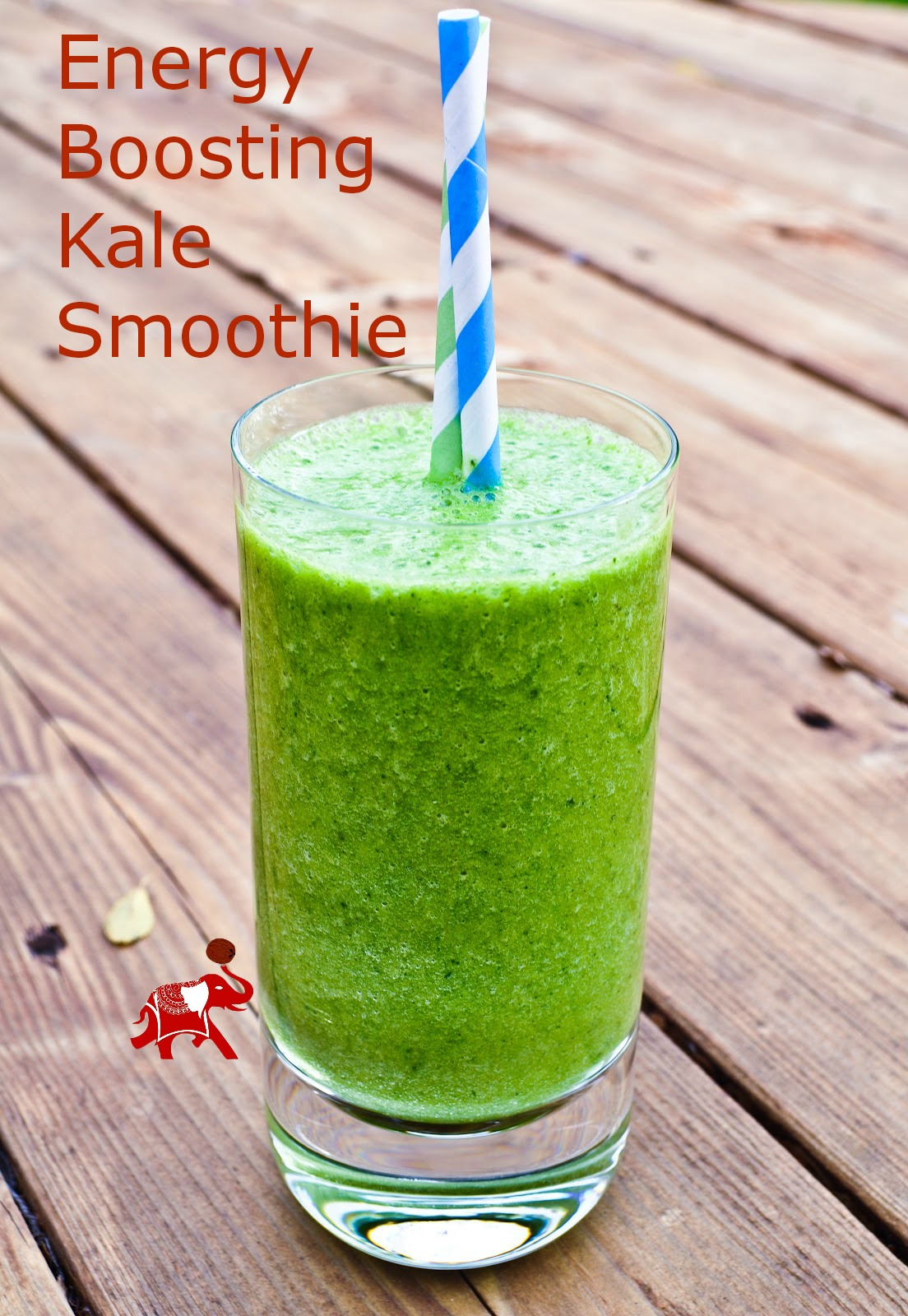 Energy-Boosting Kale Smoothie