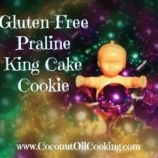King Cake Baby 225x225  Gluten Free Praline King Cake Cookie