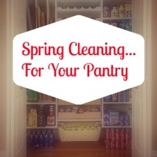 Spring Cleaning Pantry 225x225  Five Ways to Spring Clean Your Diet
